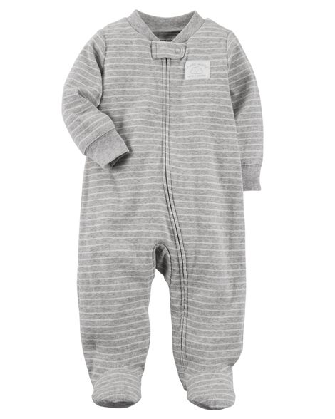 Cloud Zip-Up Cotton Sleep   Play ... 7eb143d3e
