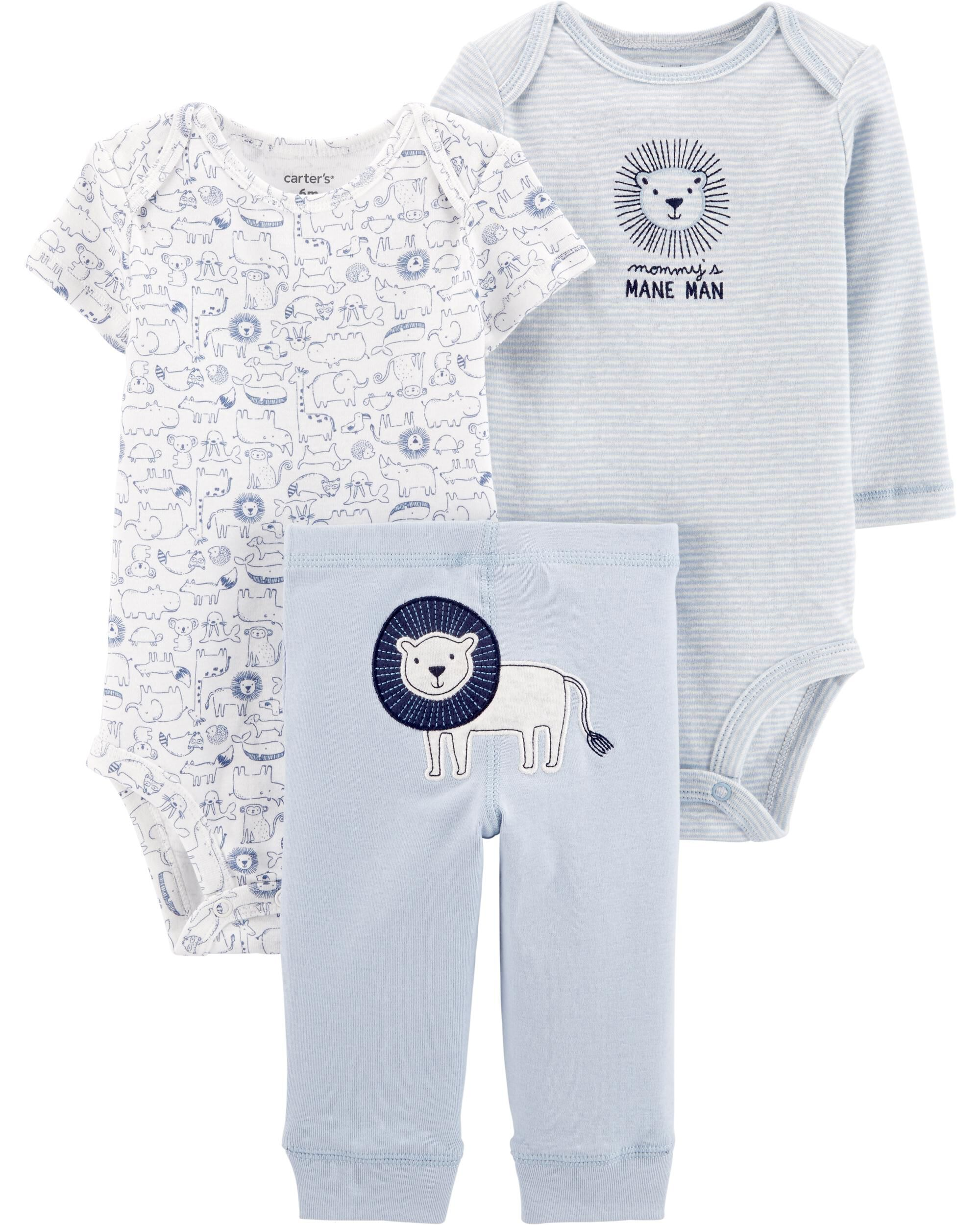 *CLEARANCE* 3-Piece Lion Little Character Set