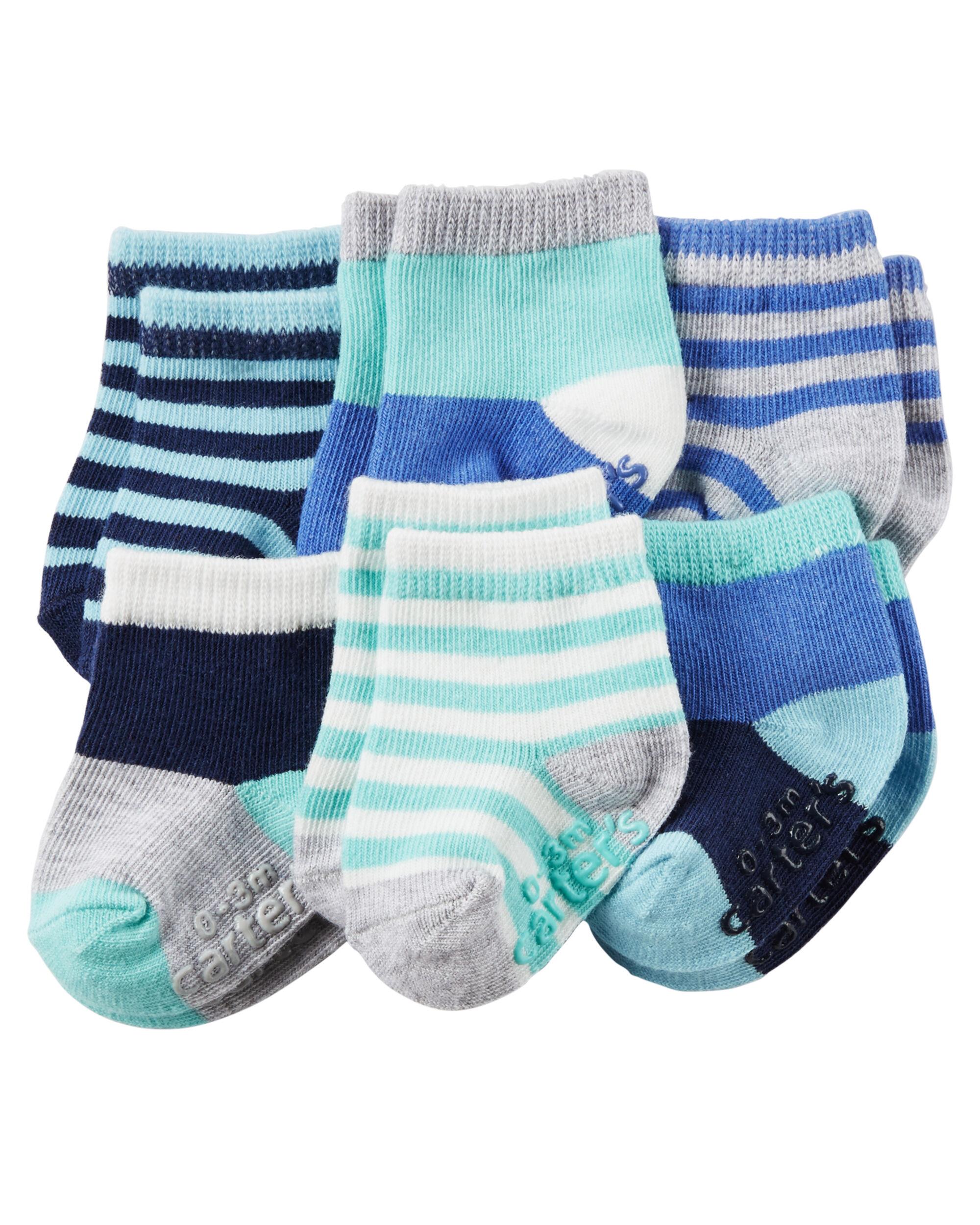 6 Pack Socks