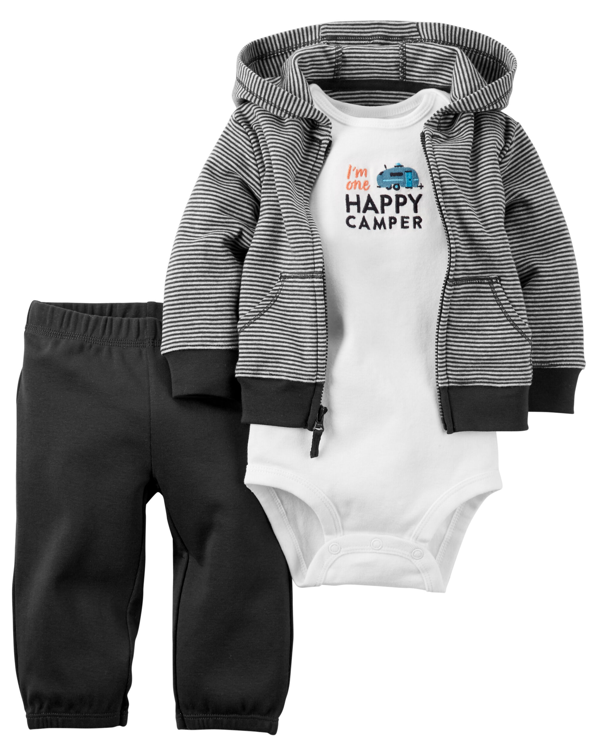 3 Piece Babysoft Little Jacket Set Carters Com