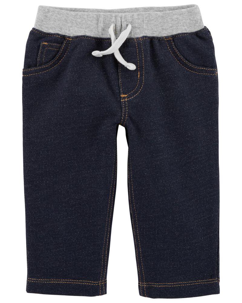 Carters Baby Boys Faux Denim Jeans
