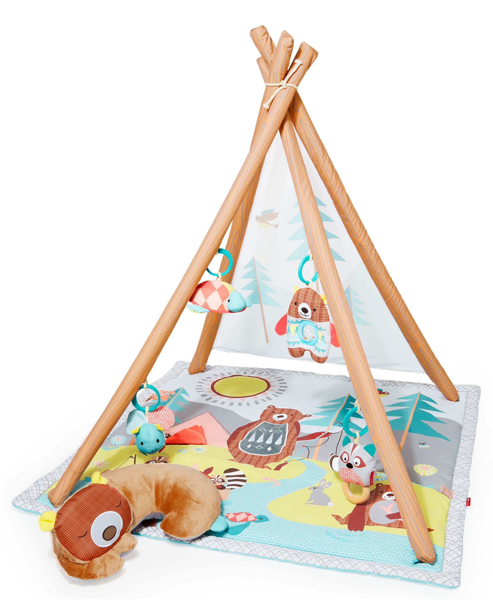 Baby Neutral Camping Cub Activity Gym