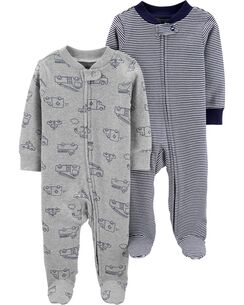 6655f201e Baby Boy One-Piece Jumpsuits & Bodysuits | Carter's | Free Shipping