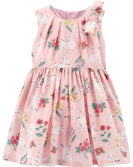 Floral Lawn Dress
