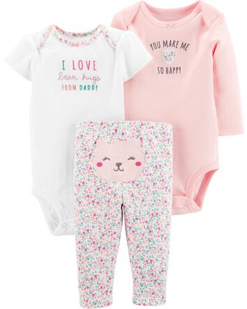 4e1f688d775ca Baby Girl Little Baby Basics | Carter's | Free Shipping