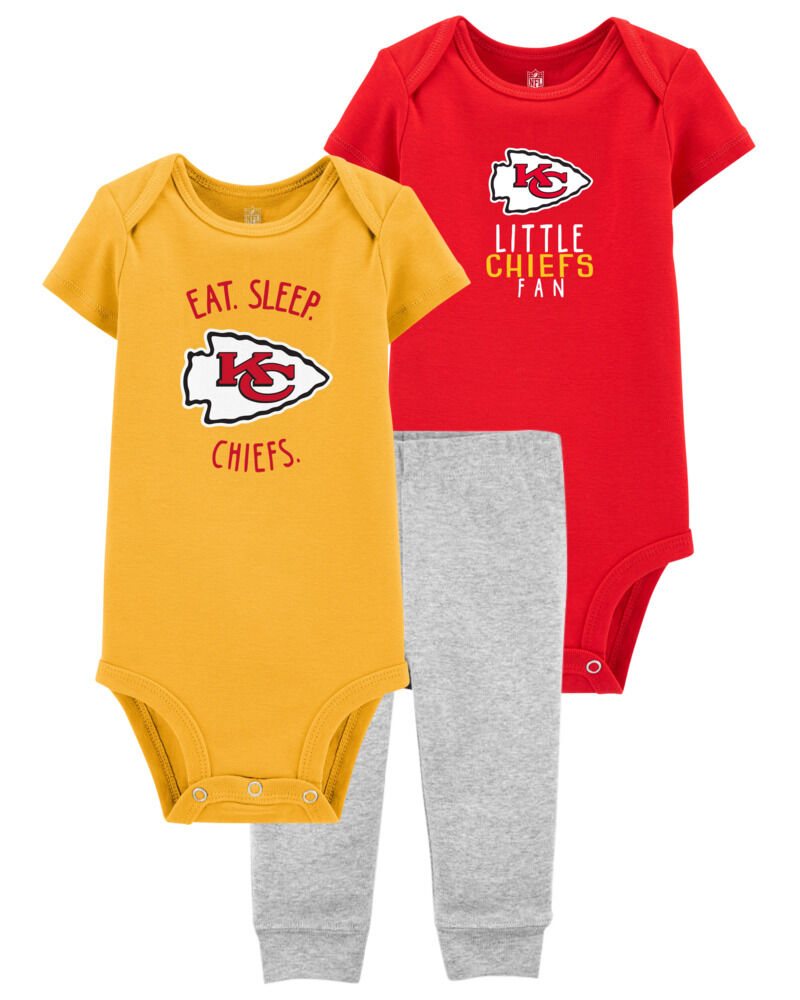 NFL Kansas City Chiefs Baby Gift Set