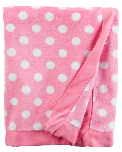 e627e6b4dbb7 Images. Polka Dot Plush Blanket