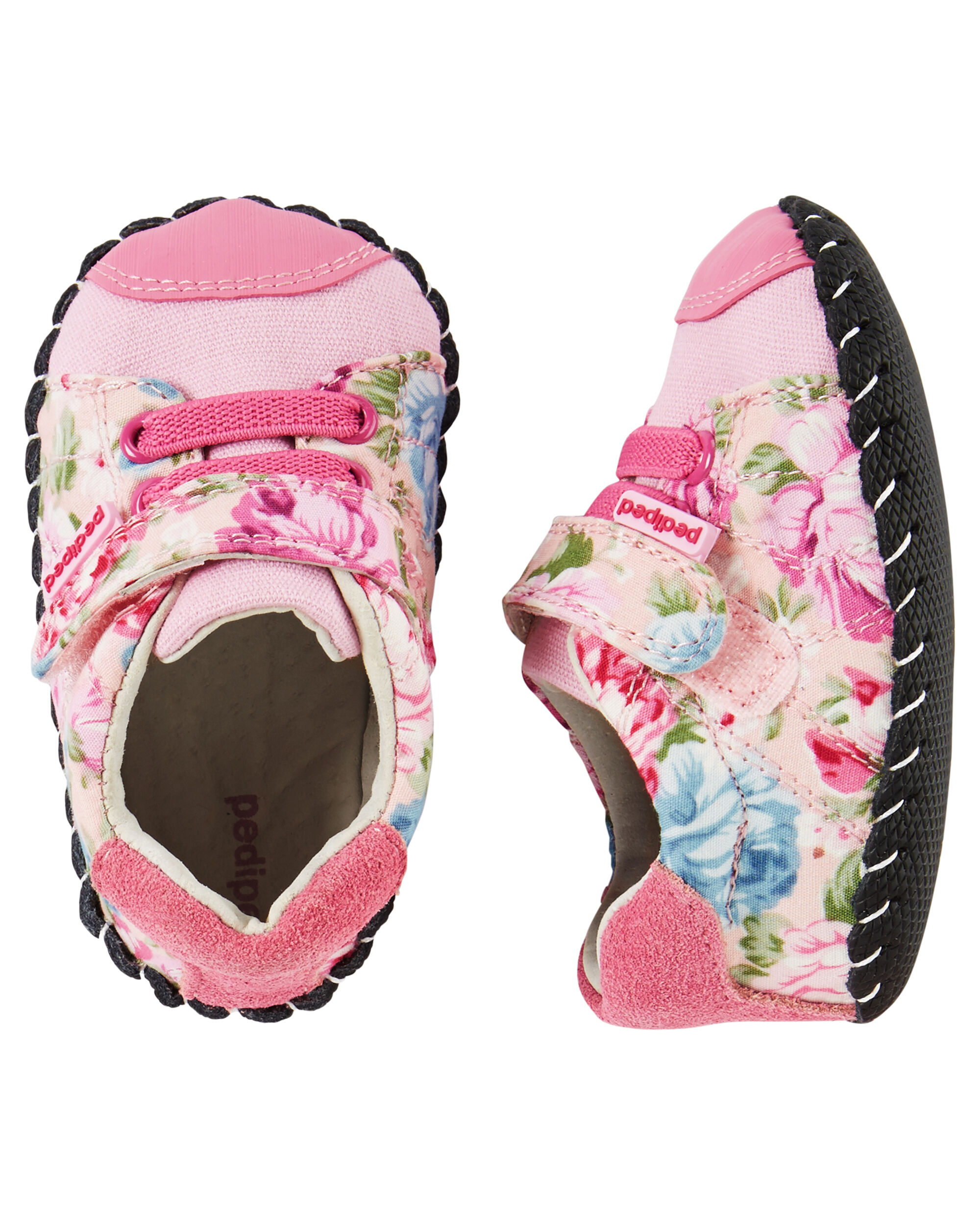 Pediped Original Jake Pink Floral