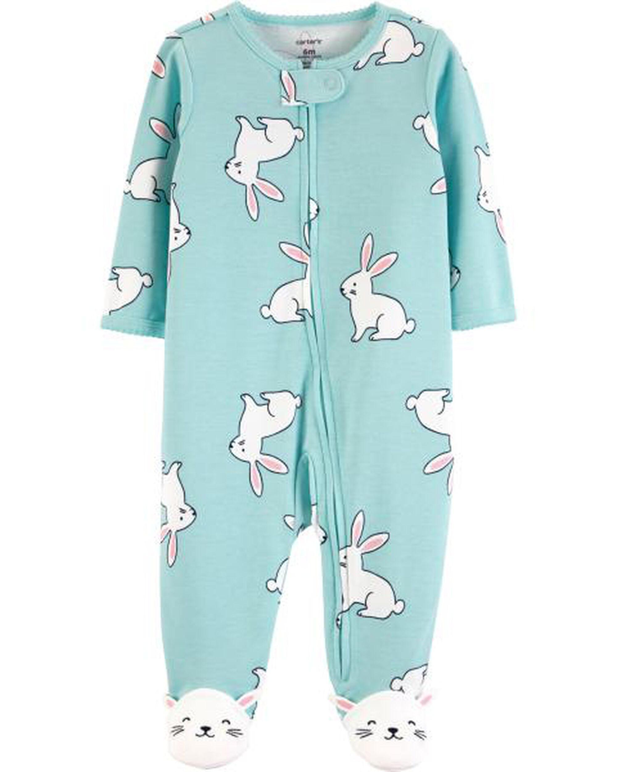 Bunny Zip-Up Cotton Sleep   Play. Loading zoom cc3f70fcf