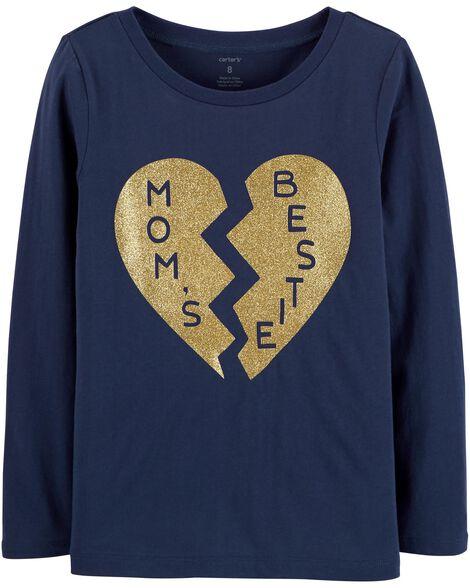 21e417b5 Mom's Bestie Jersey Tee | Carters.com