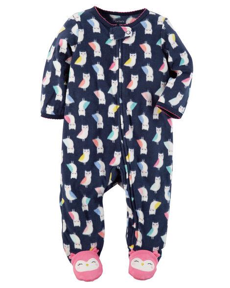 7cfe698b5 Bird Zip-Up Fleece Sleep & Play | Carters.com