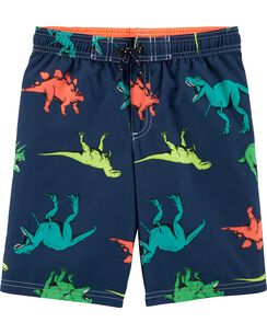 6e296a77f8b Carter s Dinosaur Print Swim Trunks