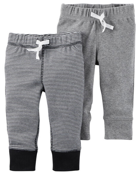 f2df8533c 2-Pack Babysoft Pants | Carters.com