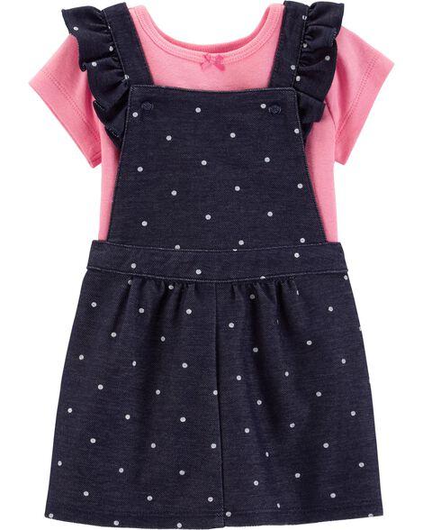 2-Piece Bodysuit & Skirtall Set