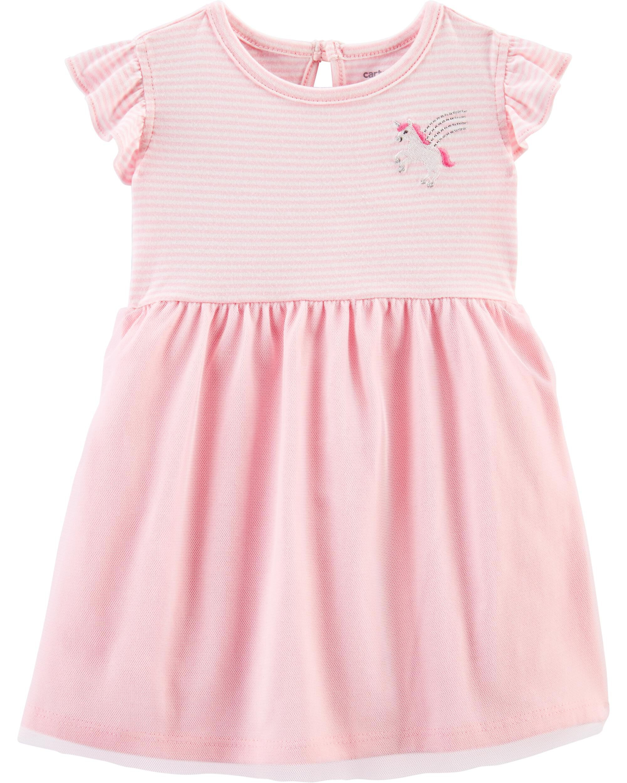 NWT Girls 3-6 month Carters striped sleeveless strawberry shorts bubble romper