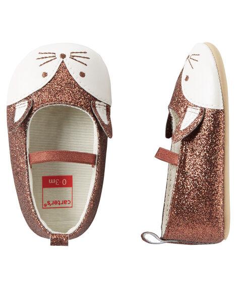 0a56940b77e4 Carter s Fox Mary Jane Crib Shoes ...