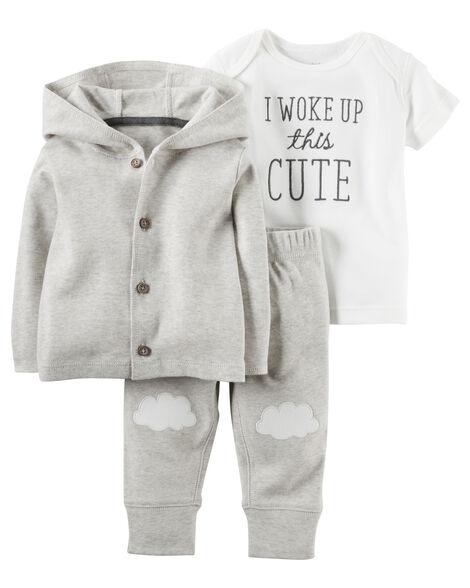 3-Piece Babysoft Little Jacket Set