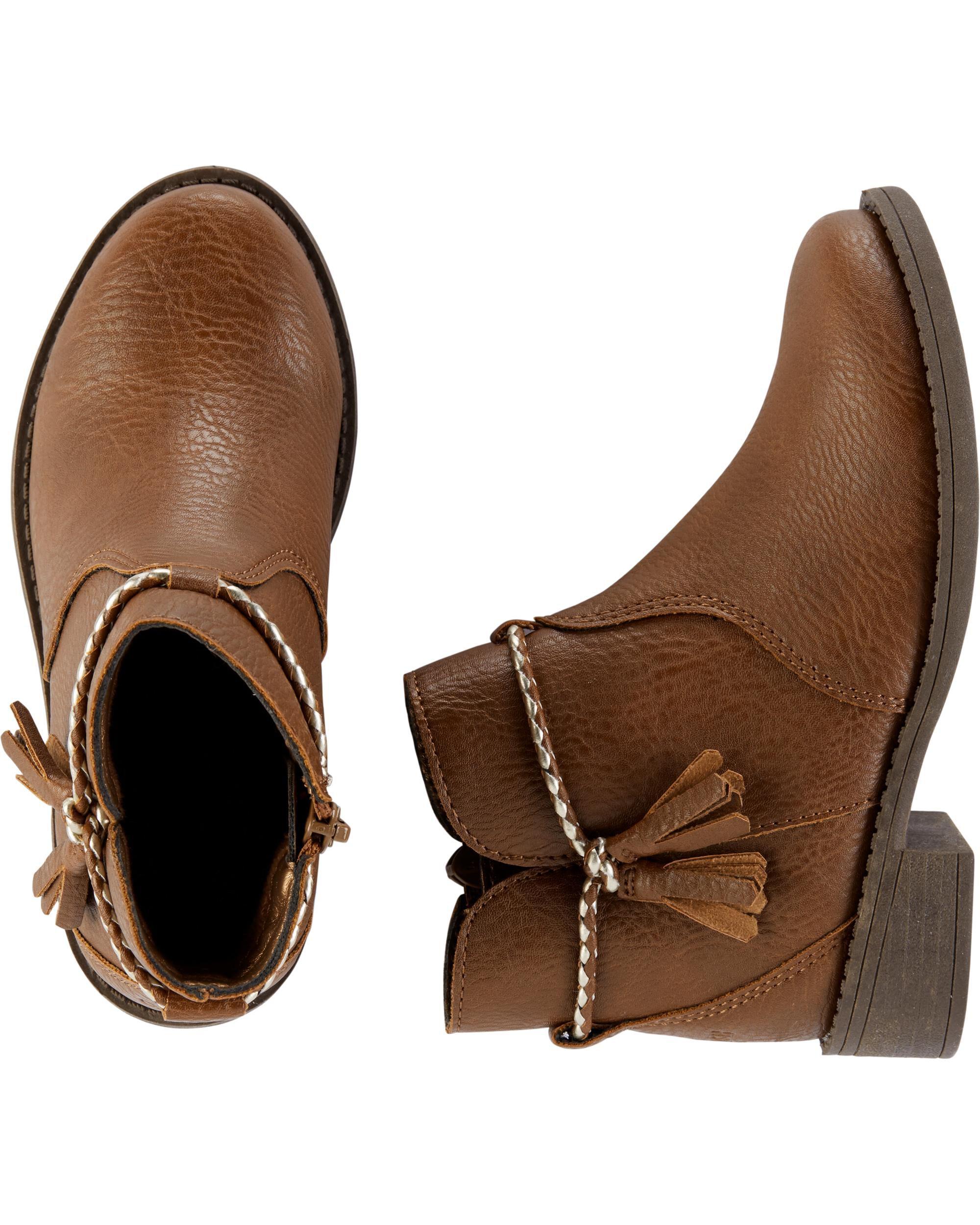 OshKosh Tassel Ankle Boots | carters.com