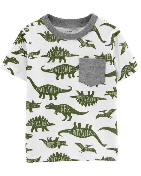 Dinosaur Pocket Slub Jersey Tee