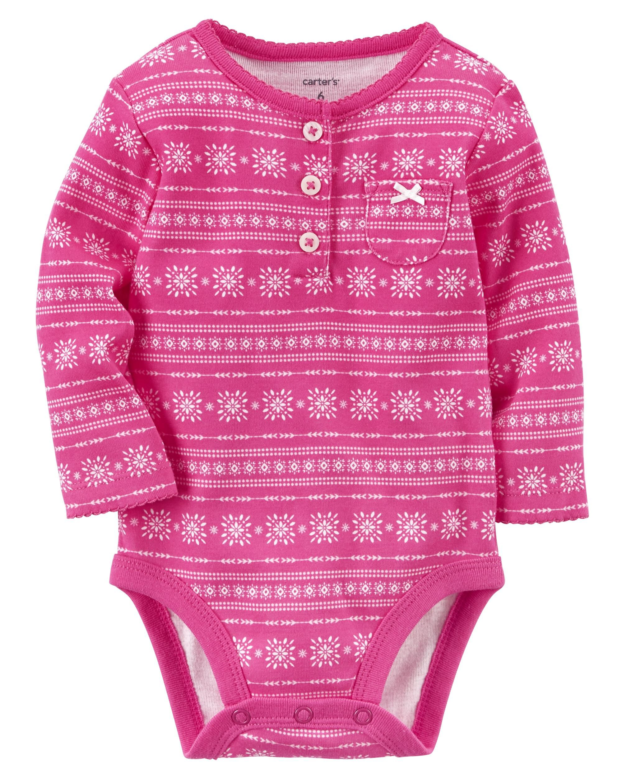 Fair Isle Collectible Bodysuit | Carters.com