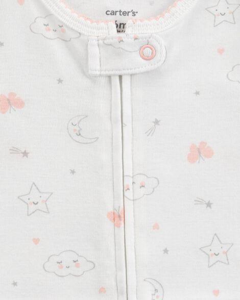 2-Pack Zip-Up Cotton Sleep & Plays