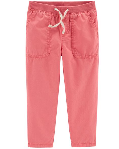 Pull-On Relaxed Fit Pants