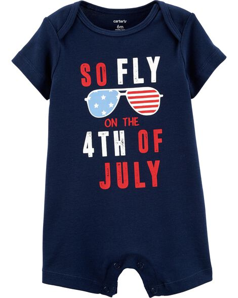 5288bbe22508 4th Of July Romper | Carters.com