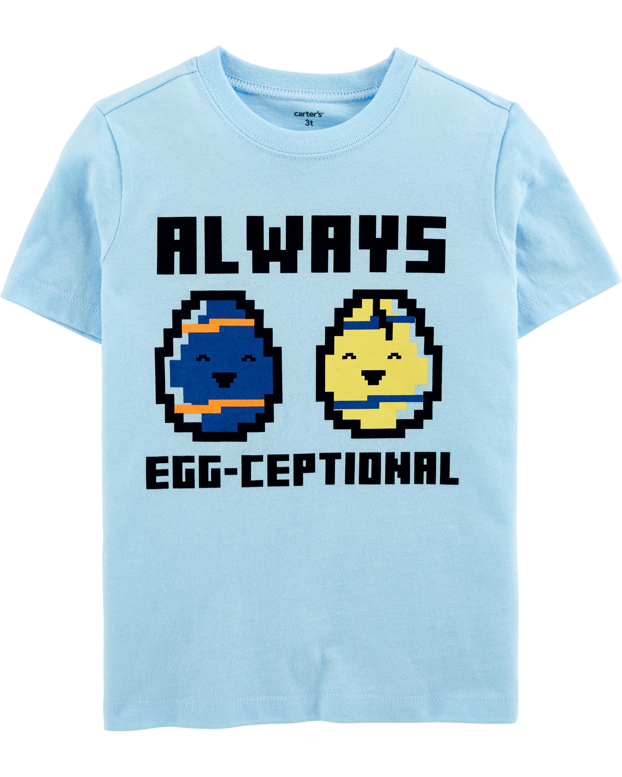 *CLEARANCE* Egg-Ceptional Jersey Tee