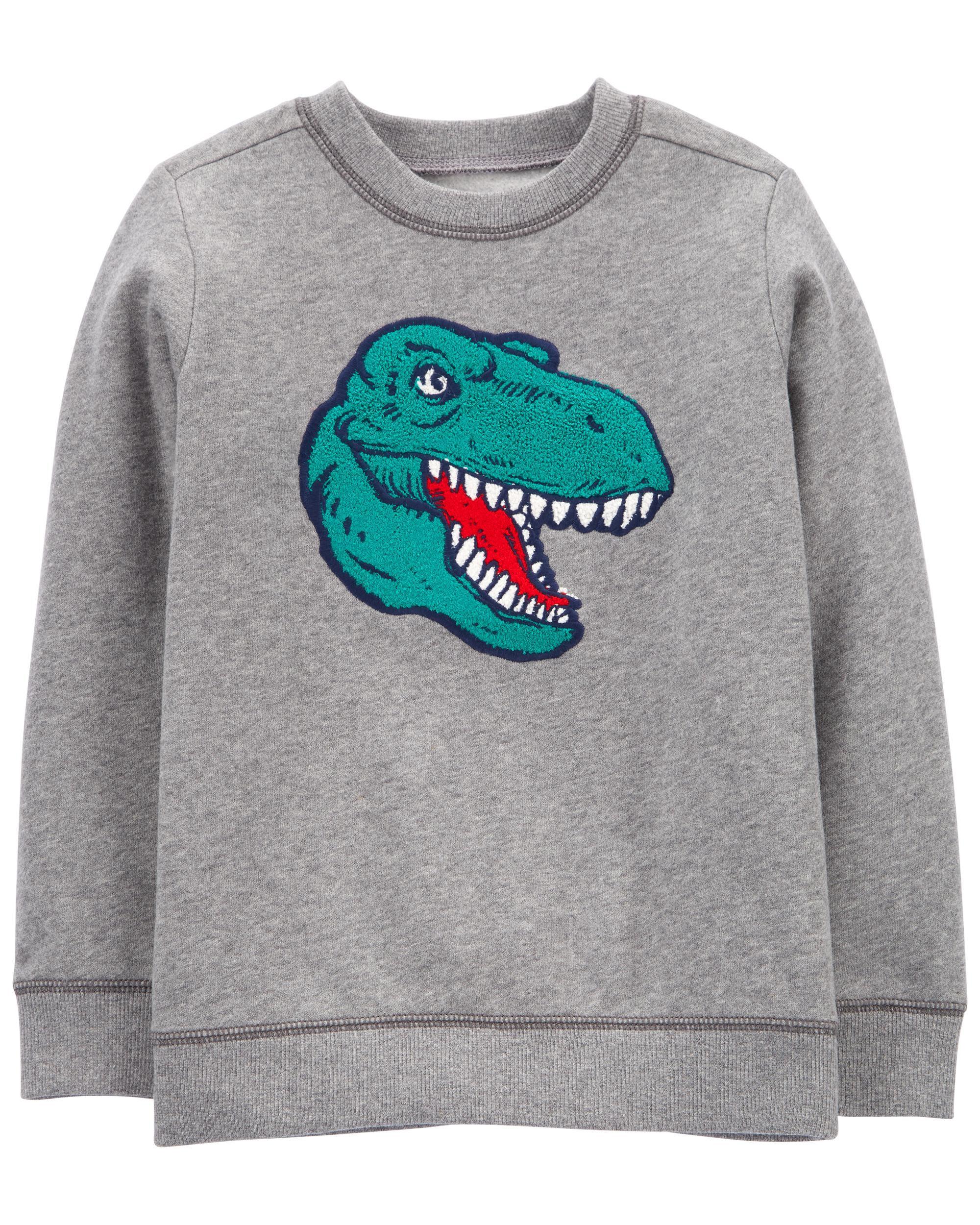 *CLEARANCE* Dinosaur Fleece Pullover