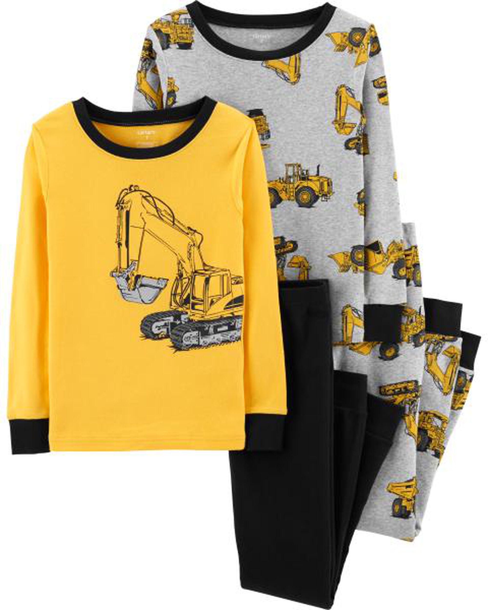 93db0b019 4-Piece Construction Snug Fit Cotton PJs