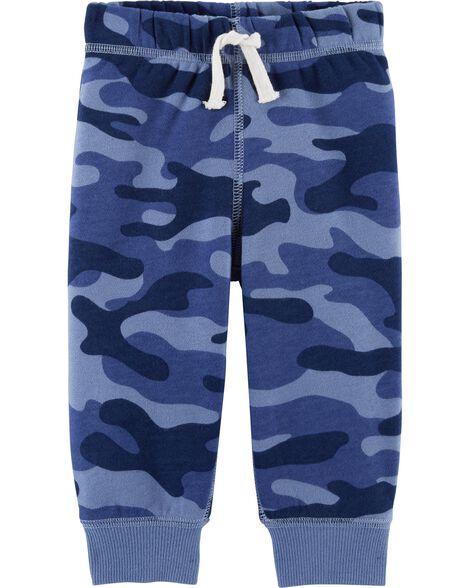 Camo Pull-On Fleece Joggers
