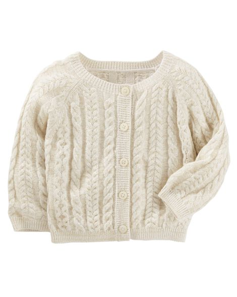 9751c7edb Baby Girl Cable Knit Sweater