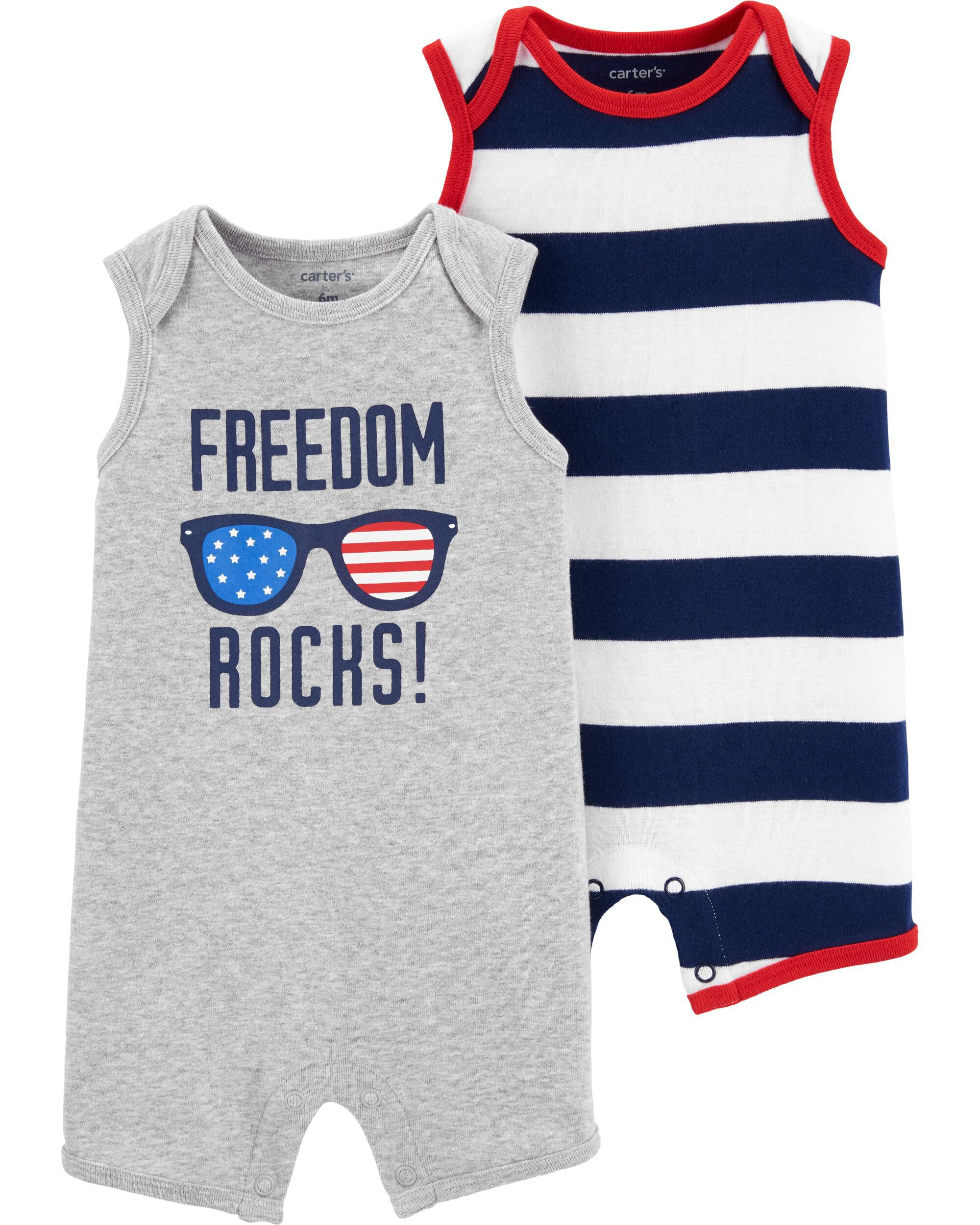 *CLEARANCE* 2-Pack Rompers