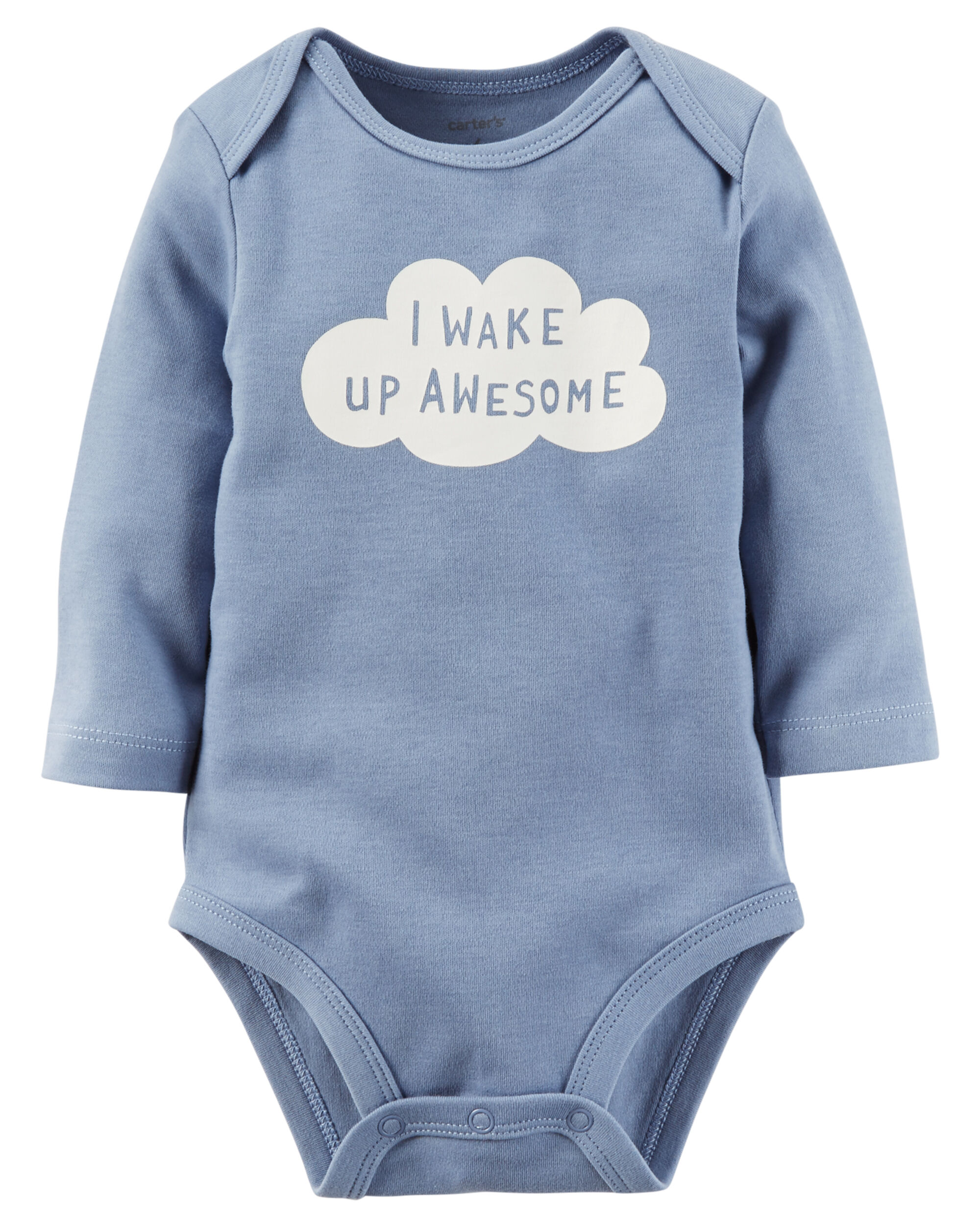 I Wake Up Awesome Collectible Bodysuit