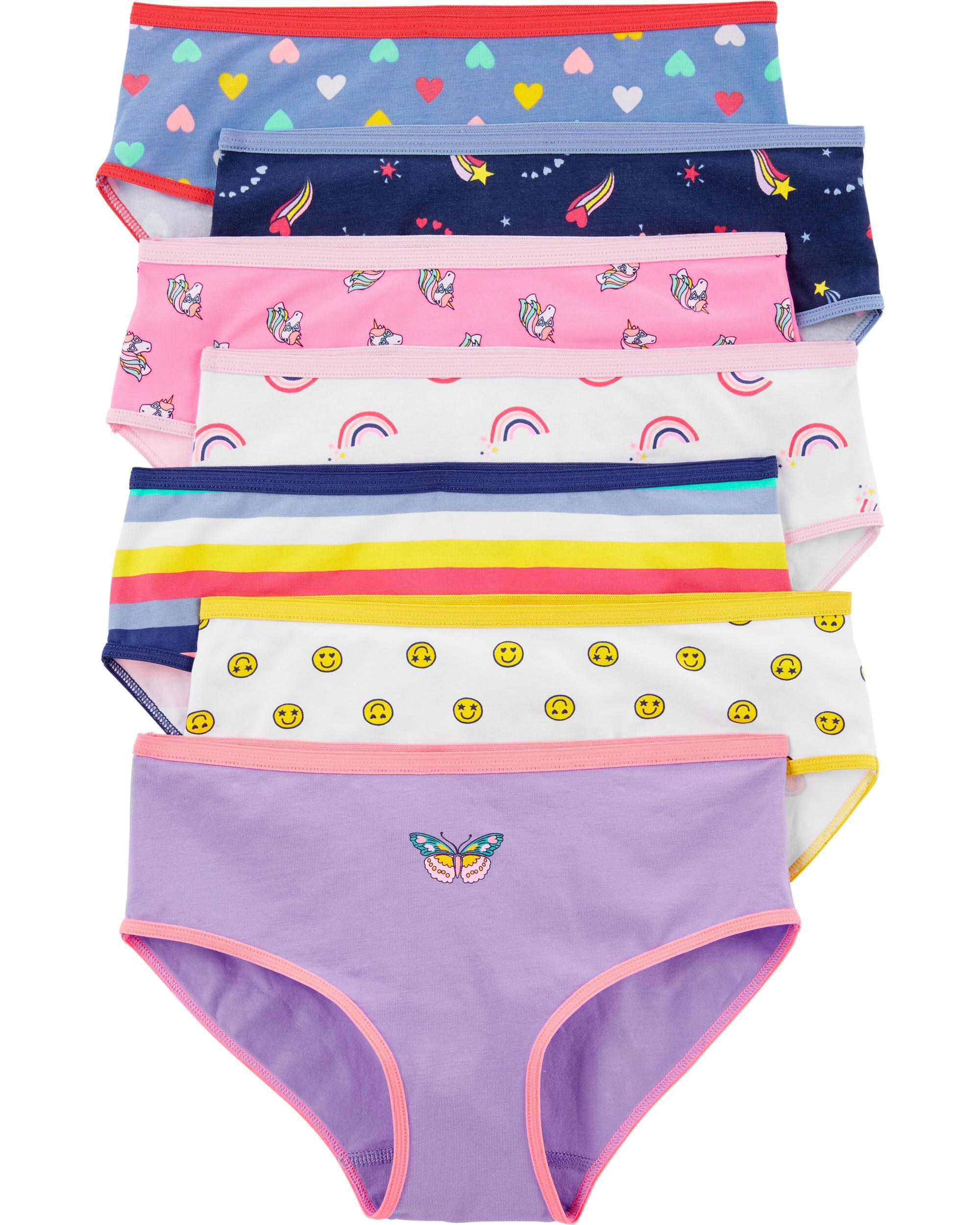Carters Toddler Boys 7 Pack Cotton Brief Underwear