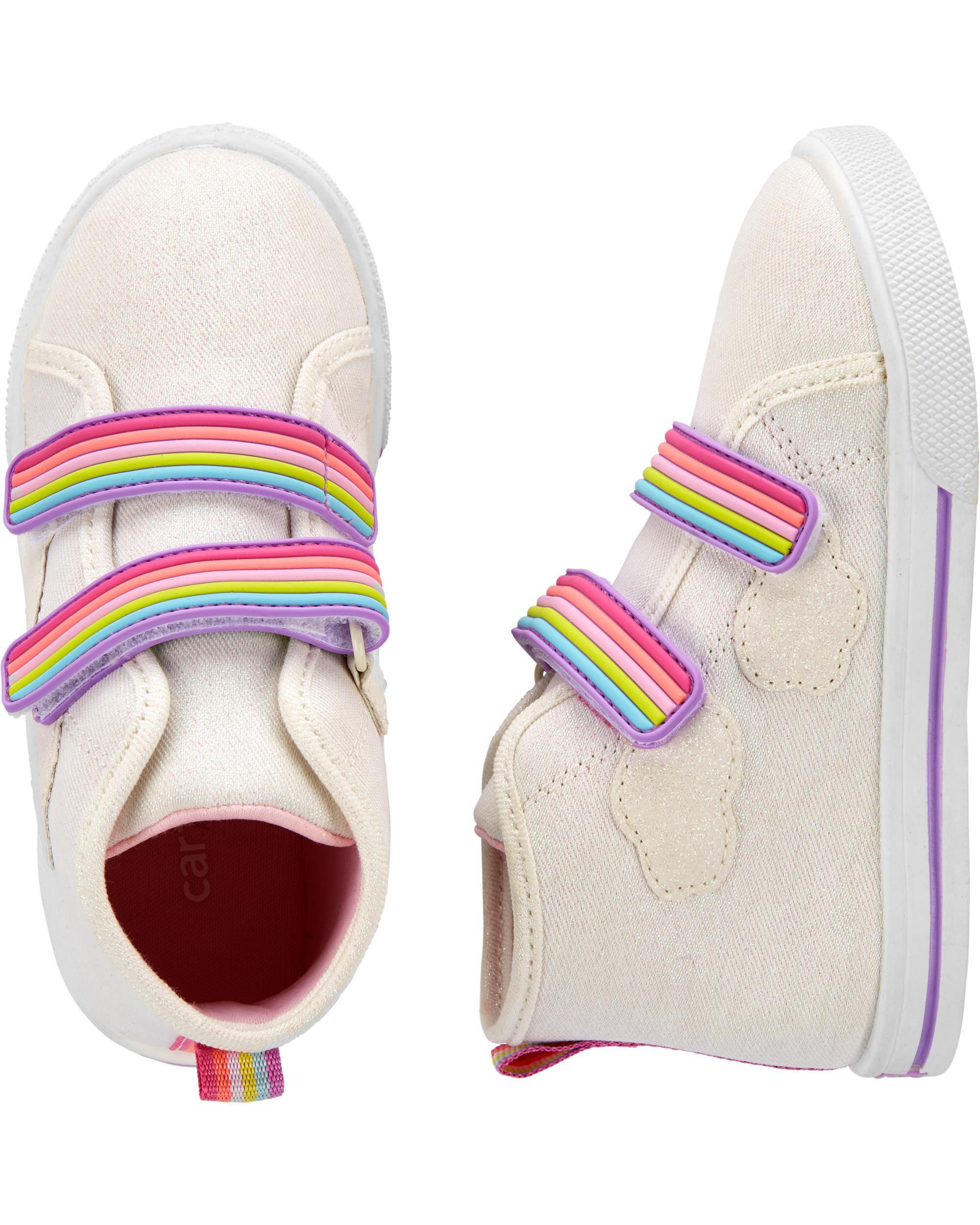 rainbow hi tops