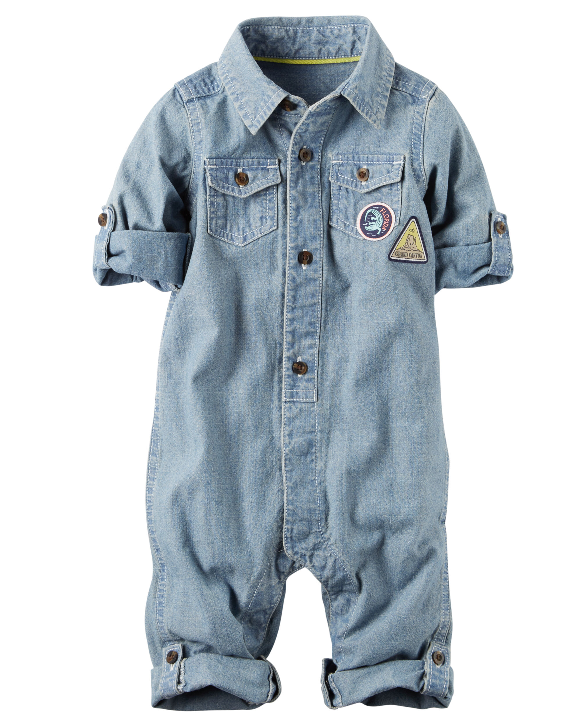 Chambray Jumpsuit Carters Com