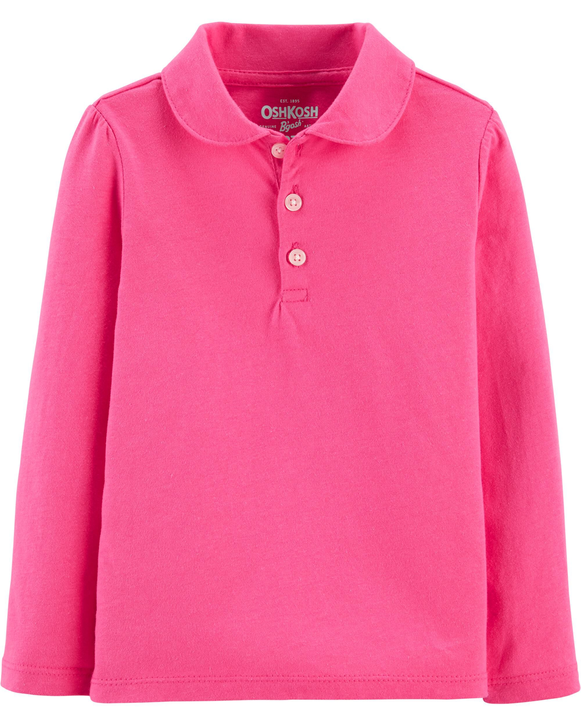 Rainbow Official Polo Girls Shirt Red//Sky