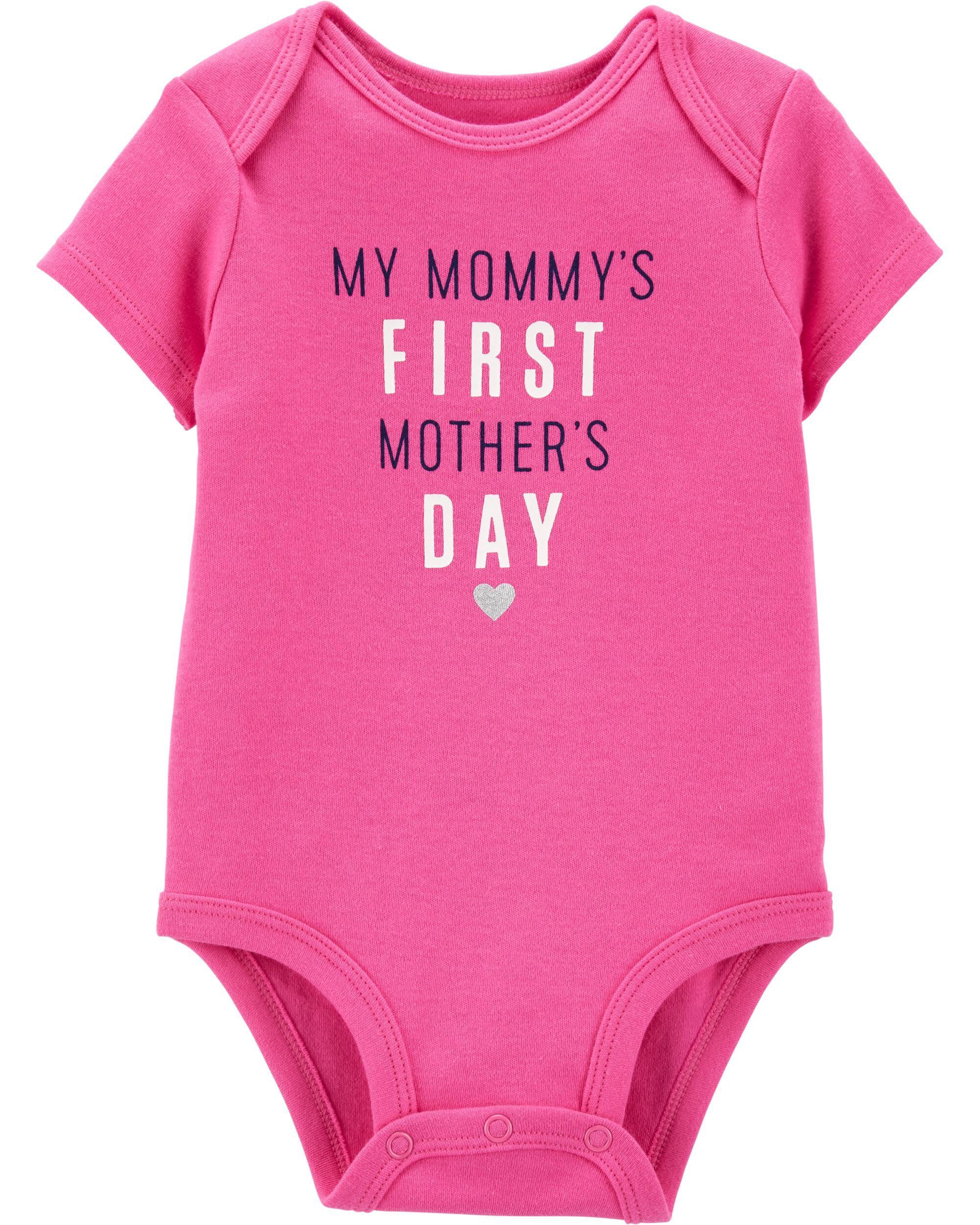 1136156e Mommy's First Mother's Day Collectible Bodysuit   Carters.com