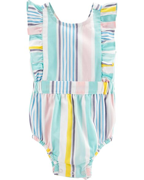 d60cb9fe1 Striped Bubble Romper | Carters.com