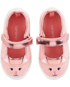 cb2baa95cbc7 Carter s Glitter Cat Casual Sneakers