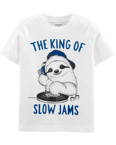 DJ Sloth Jersey Tee