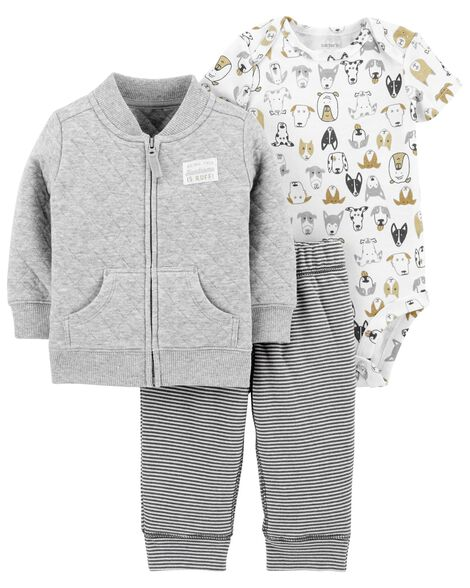 0d5dbb48b 3-Piece Little Jacket Set