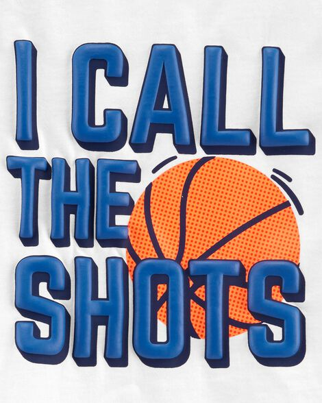 2-Piece Basketball Jersey Tee & Mesh Short Set