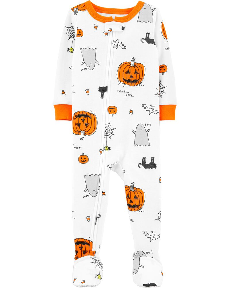 carters 1-Piece Halloween Snug Fit Cotton Footie PJs
