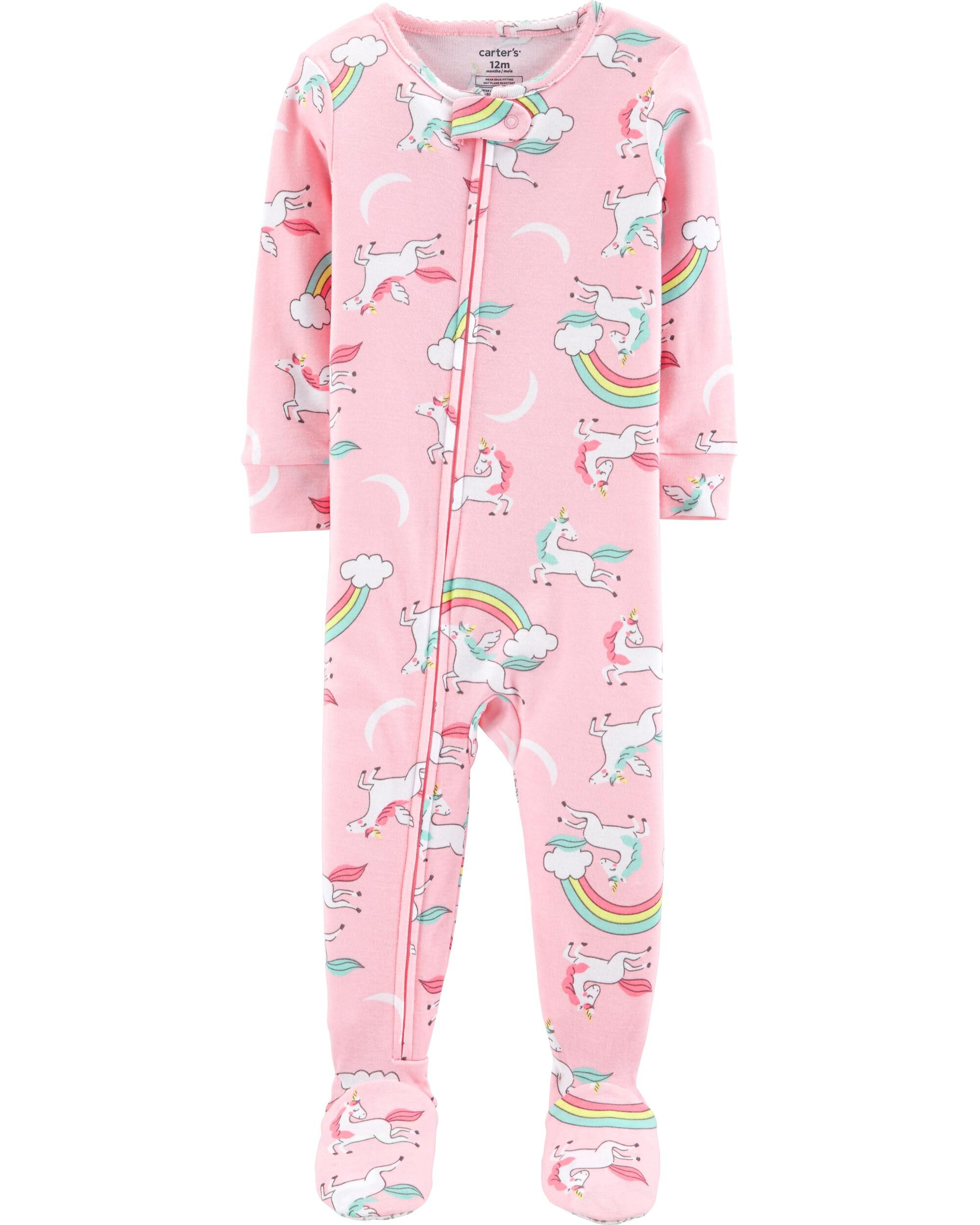 Provided Carters Baby Girl 12m Sleep & Play Ballerina Footed Zip Pajamas New Attractive Designs; Girls' Clothing (newborn-5t) Clothing, Shoes & Accessories