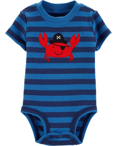 8a99a379c Pirate Crab Collectible Bodysuit | Carters.com