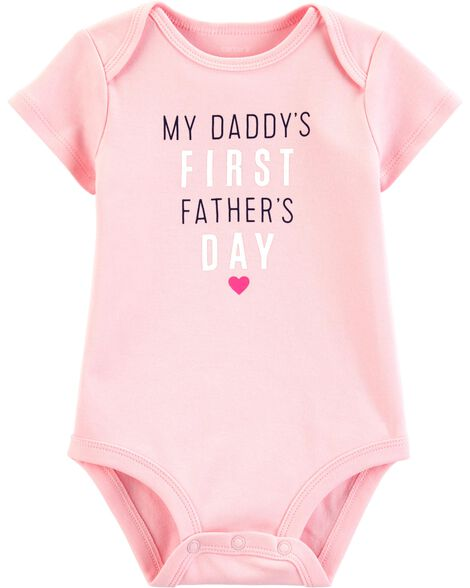17096d74d Baby Girl Father's Day Collectible Bodysuit | Carters.com