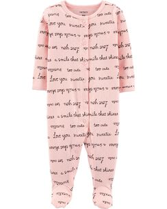 ebc30b891 Baby Girl Sleep   Play Pajamas