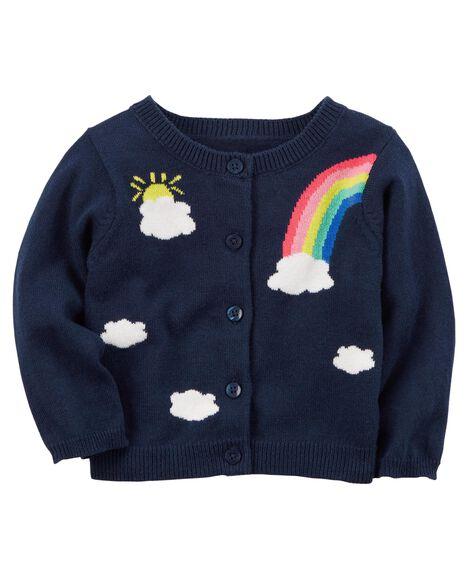4aaa250fc7c8 Rainbow Cardigan